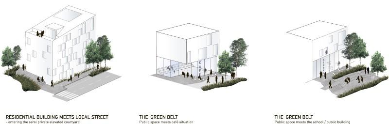 13 полуприватные. общественные пространства